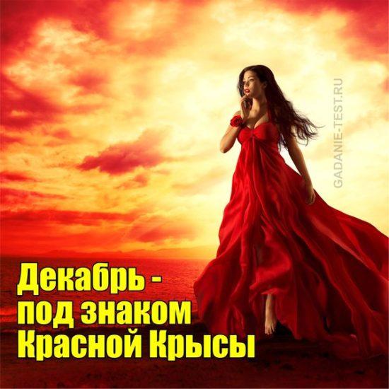 Декабрь - под знаком Красной Крысы - https://gadanie-test.ru/