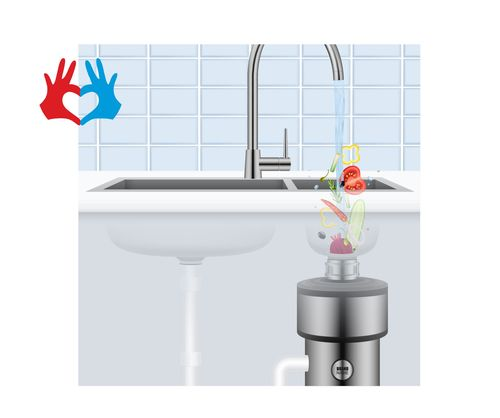 Полезная техника для Вашей кухни - https://gadanie-test.ru/ Измельчитель отходов