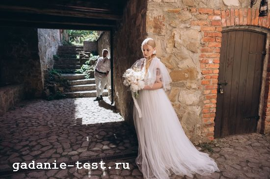 Что скрывается за основными традициями на свадьбах https://gadanie-test.ru/ платье