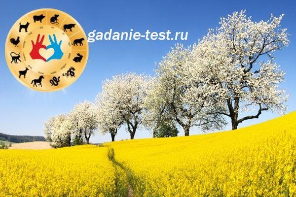 Гороскоп на апрель по году рождения https://gadanie-test.ru/