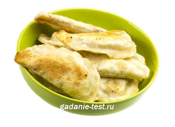 Постные пирожки с капустой из заварного теста https://gadanie-test.ru/