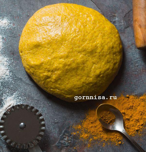 Постные пирожки с капустой из заварного теста