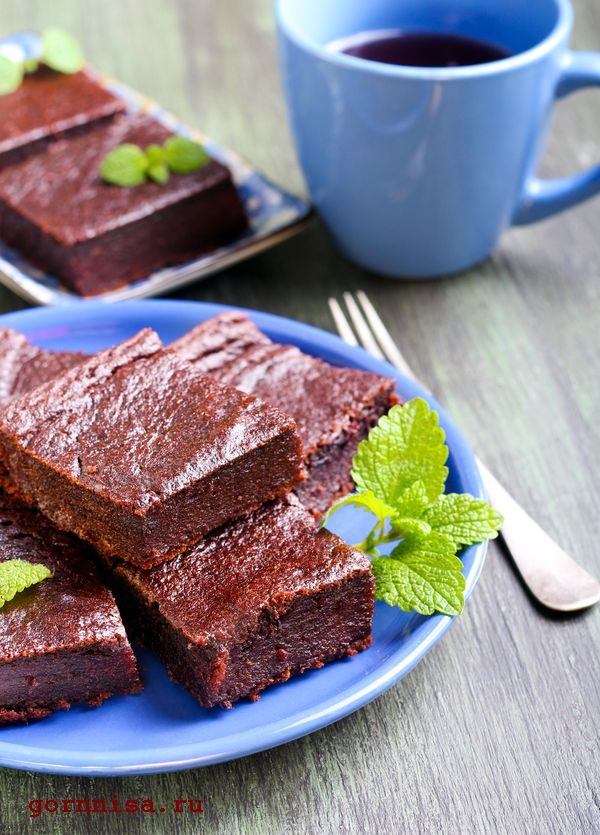 свекольно шоколадный пирог