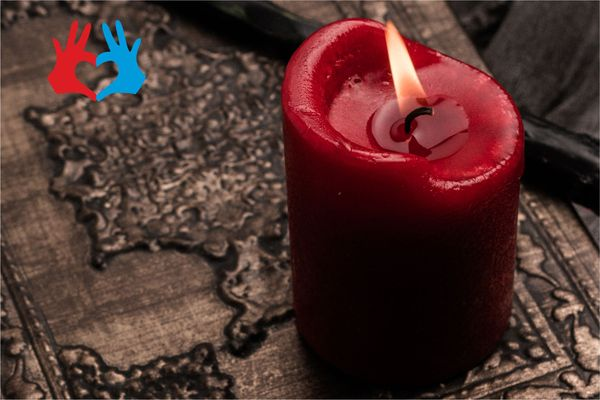 Значение и духовная сила красной свечи - https://gadanie-test.ru/
