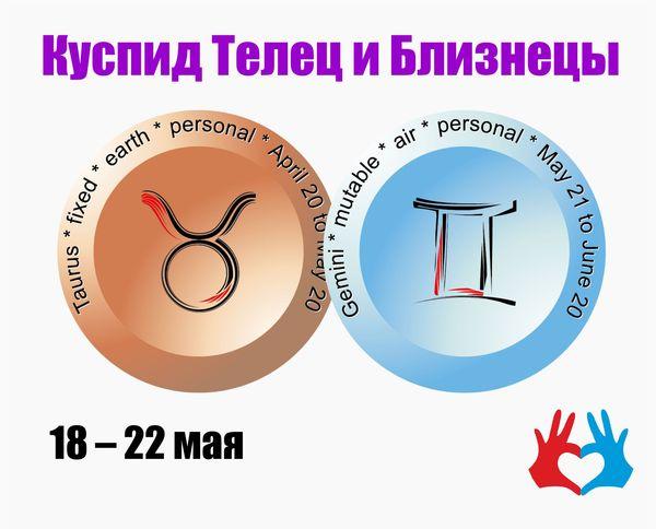 Куспид Телец и Близнецы /18 – 22 мая/ - https://gadanie-test.ru/