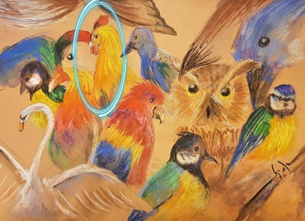 Птица 8