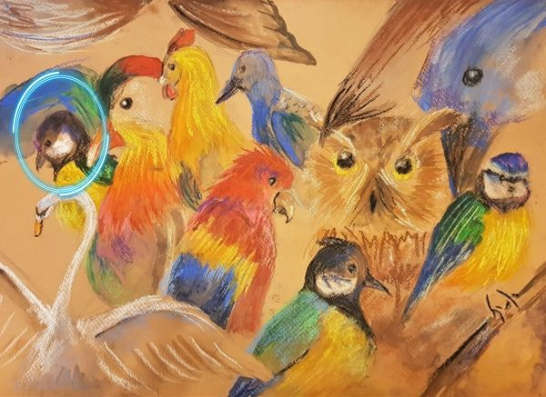Птица 9