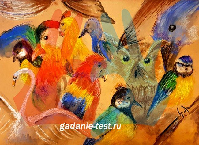 Тест на желание — Какую птицу увидели первой?