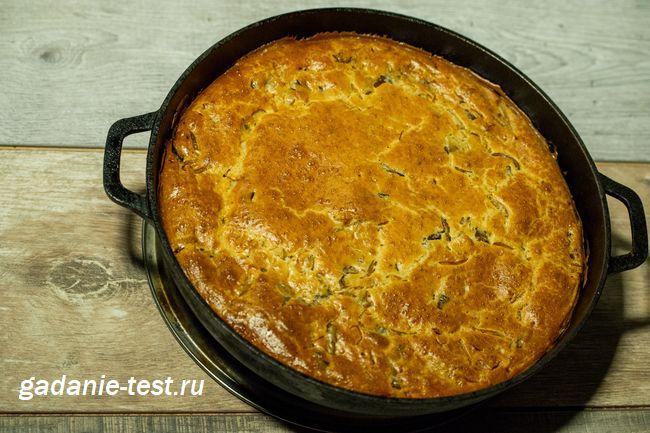 Быстрый грибной пирог с курицей на кефире в форме для выпечки https://gadanie-test.ru/