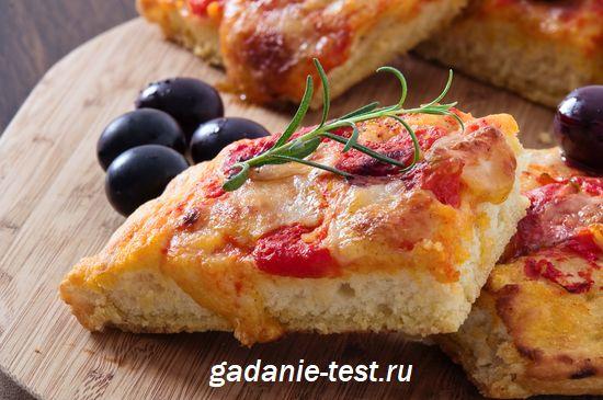 Фокаччо с сыром