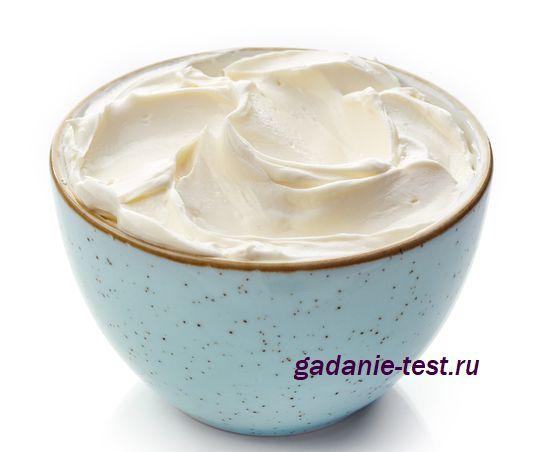 Густой и сладкий сырный крем https://gadanie-test.ru/