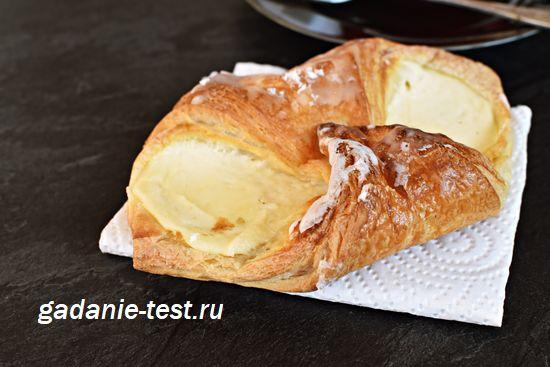 Круассаны с сырным кремом https://gadanie-test.ru/